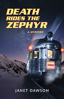 Death Rides the Zephyr by Janet Dawson