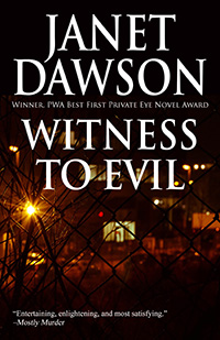 Witness to Evil by Janet Dawson